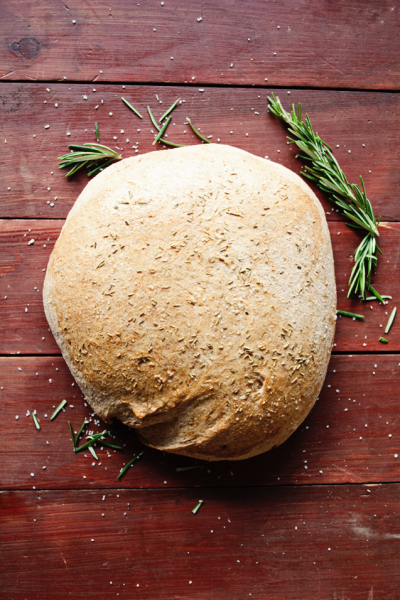 Homemade Rosemary and Olive Oil Bread