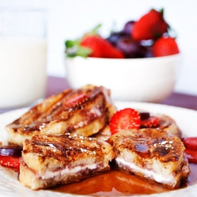 Mini Grilled and Stuffed French Toast