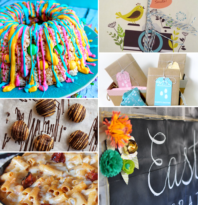 Create & Share DIY and Recipe Party by Three in Three | Features from 04/22/14