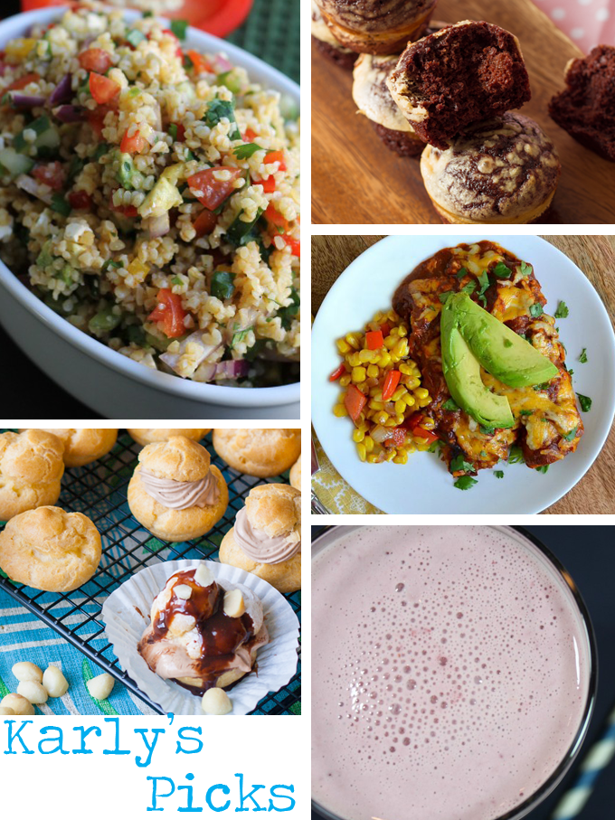 Tasty Tuesdays with Three in Three | Featured Recipes from 04/01/14