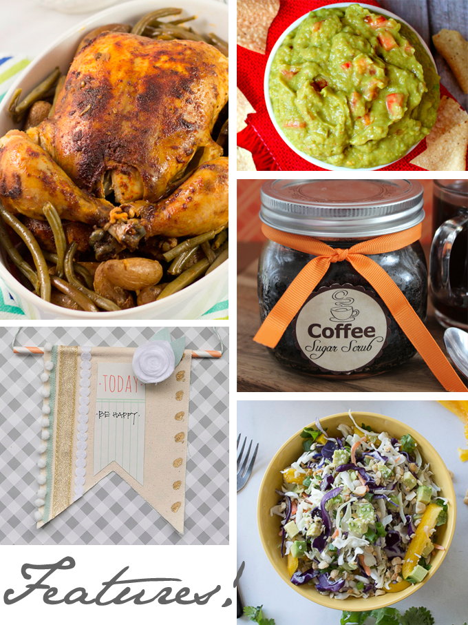 Create & Share DIY and Recipe Party by Three in Three | Features from 05/06/2014