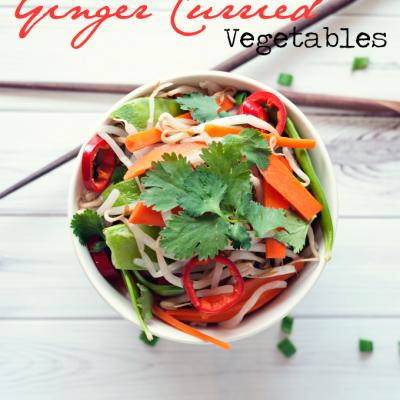 Ginger Curried Vegetables