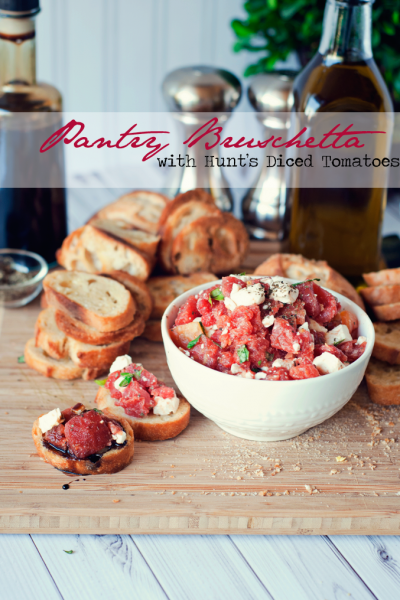 Easy Summer Recipes | Pantry Bruschetta