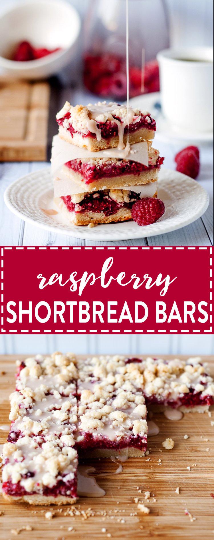 Raspberry Shortbread Bars A Simple Pantry
