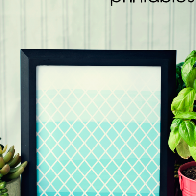 Diamond Ombre Printables