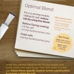 How to replace salt with lemon, the optimal blends!