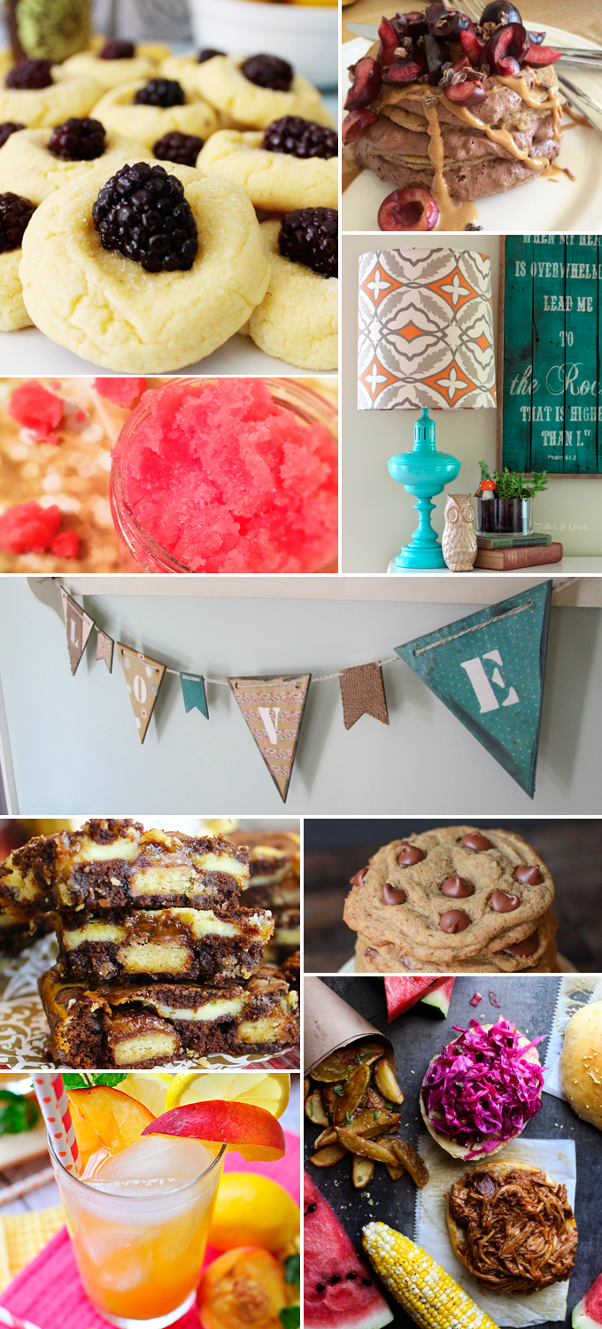 Create & Share DIY and Recipe Party by Three in Three | Features from 07/01/2014