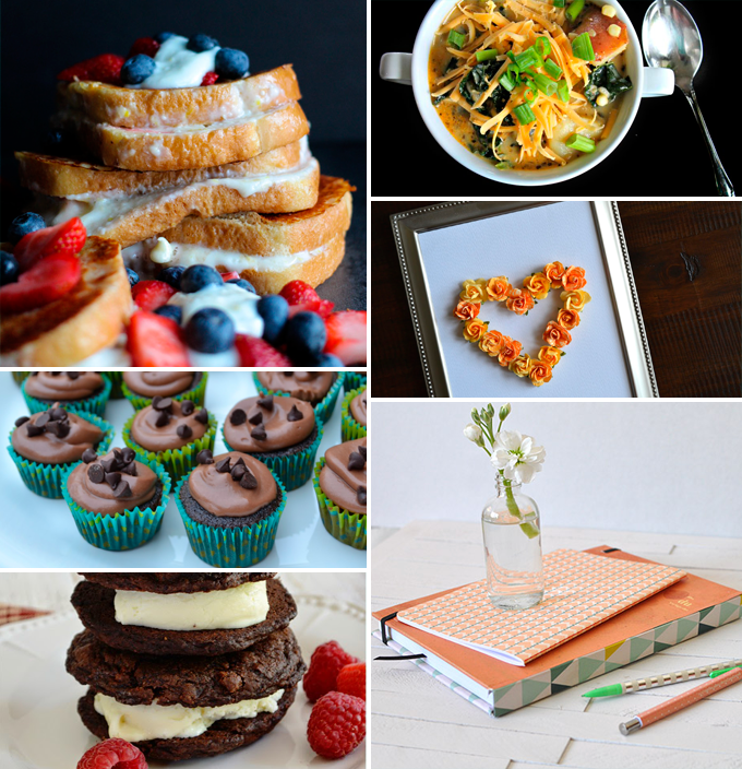 Create & Share DIY and Recipe Party by Three in Three | Features from 07/08/2014