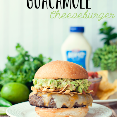 Spicy Guacamole Burger