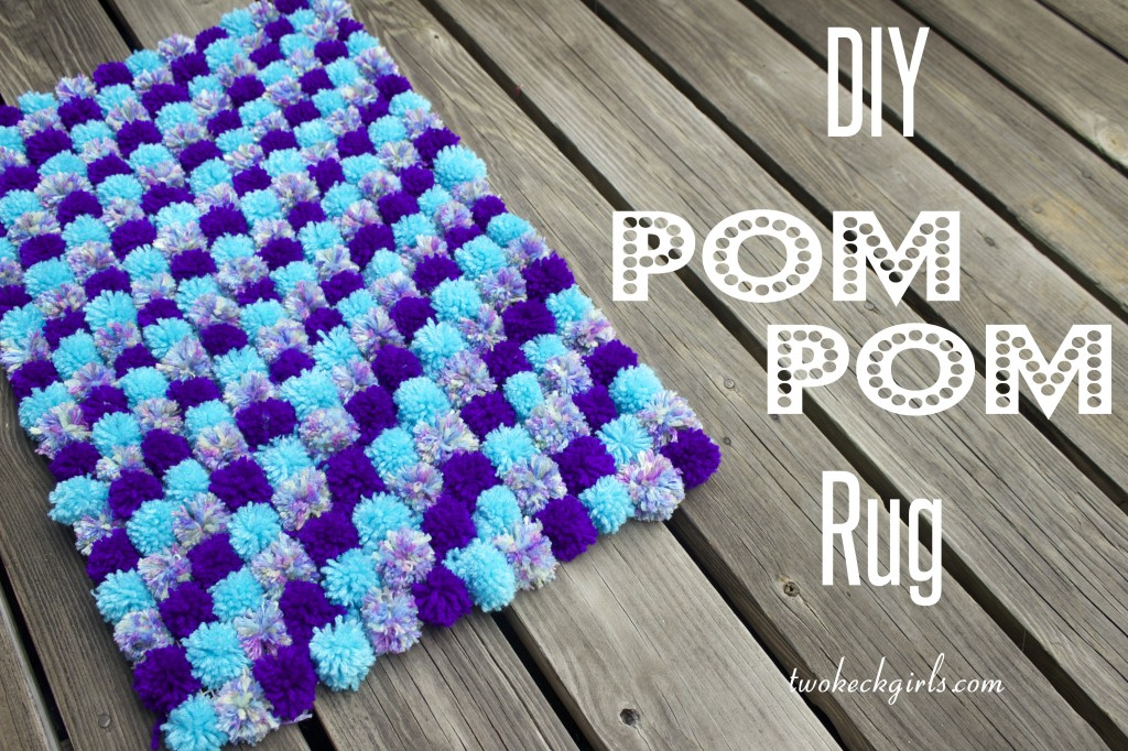 Create & Share DIY and Recipe Party by A Simple Pantry | DIY Pom Pom Rug Feature from Two Keck Girls