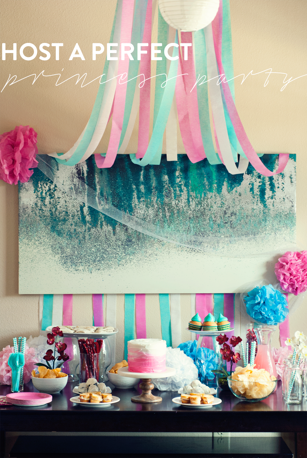 It's easy to host a perfect princess party when you have the right tools for success! Your princesses will agree!