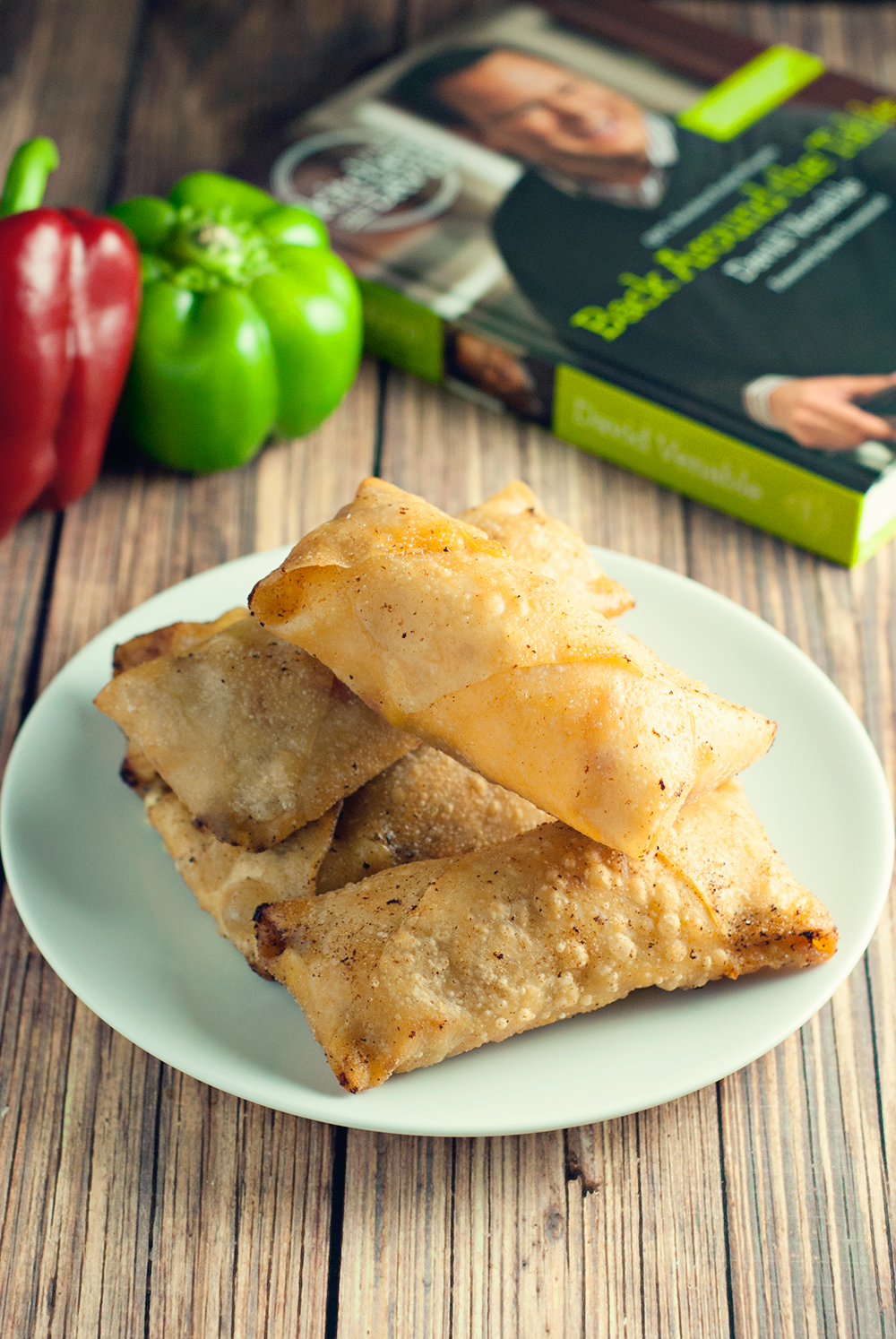 A play on the classic Philly Cheesesteak, these Chicken Cheesesteak Egg Rolls are simple to make, delicious, and ready in 30 minutes!
