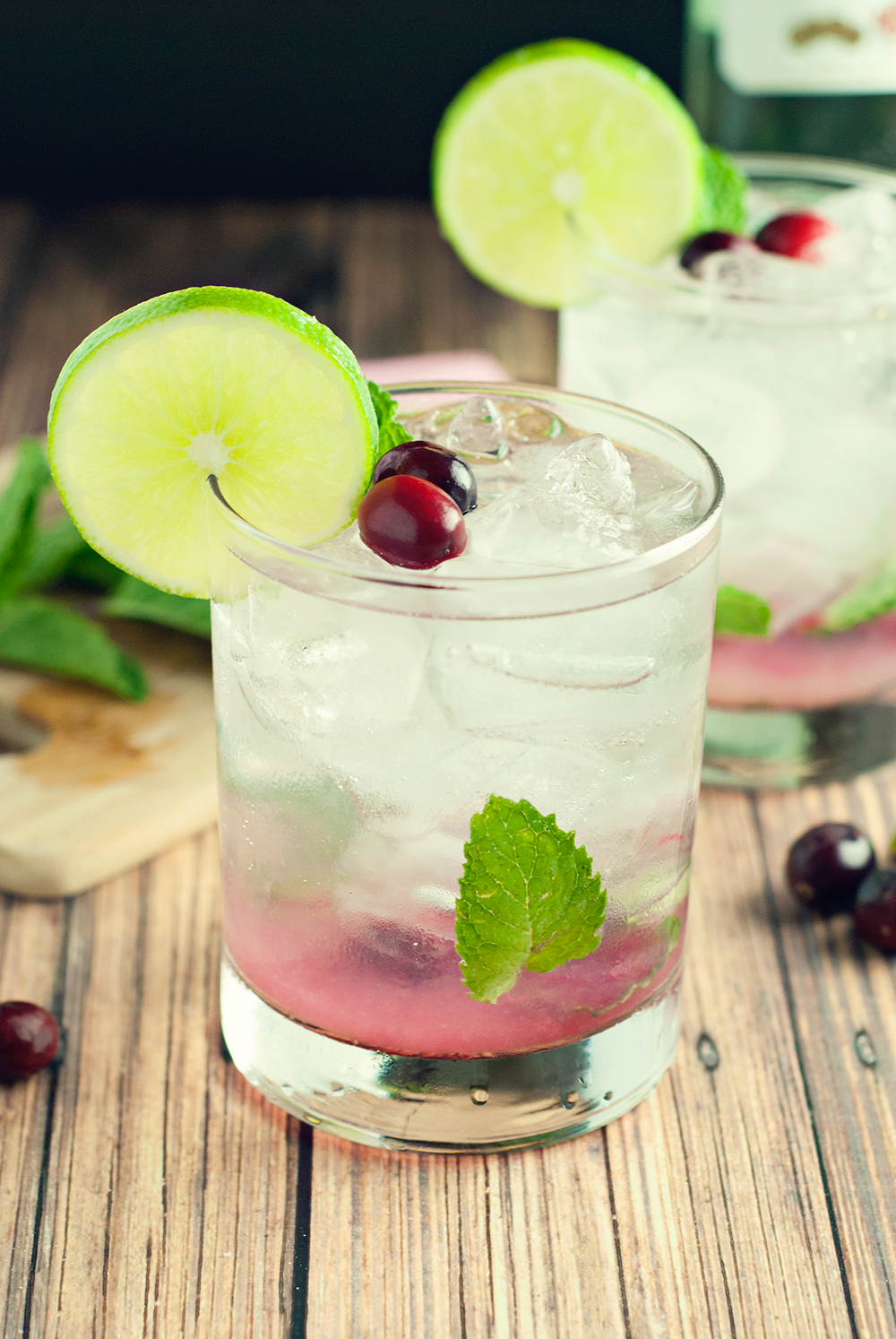 Cranberry Mojito Drink Recipe • A Simple Pantry