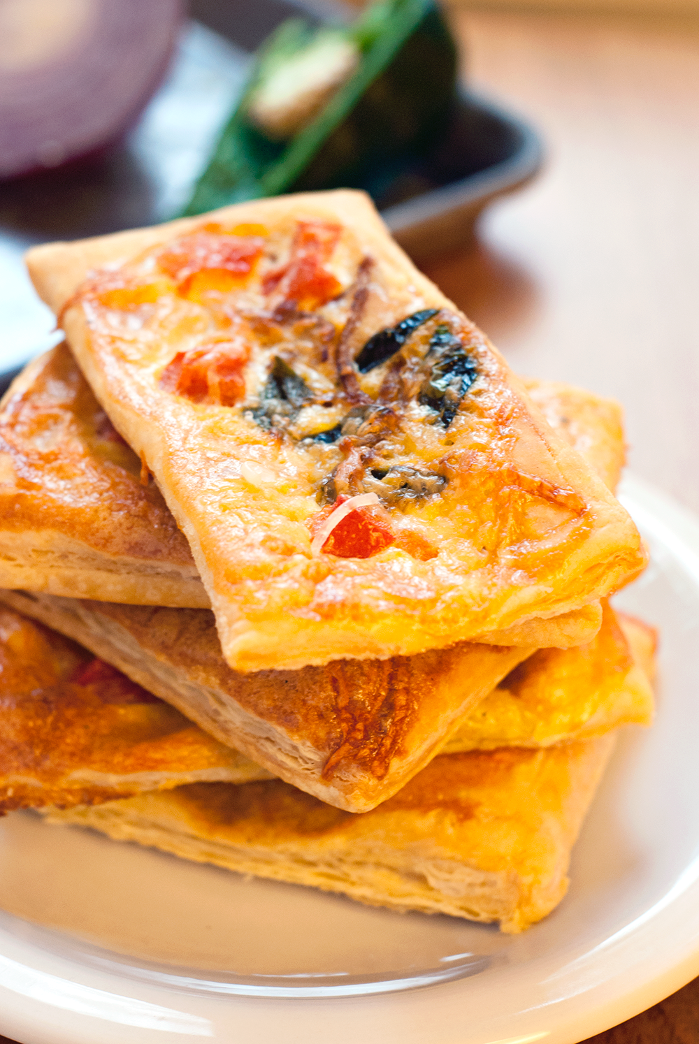Start your morning off right with an amazingly delicious and flavorful easy breakfast tartlet!