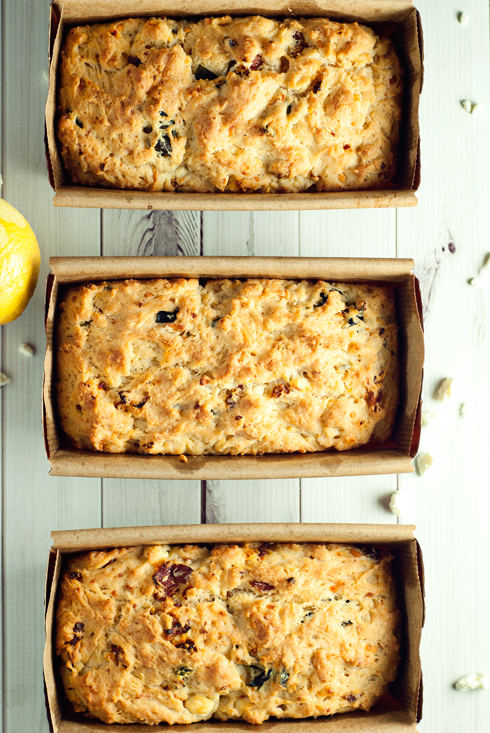 This easy sun-dried tomato and feta quick bread is ready in just 30 minutes, so get ready to nosh on some amazing flavor today!