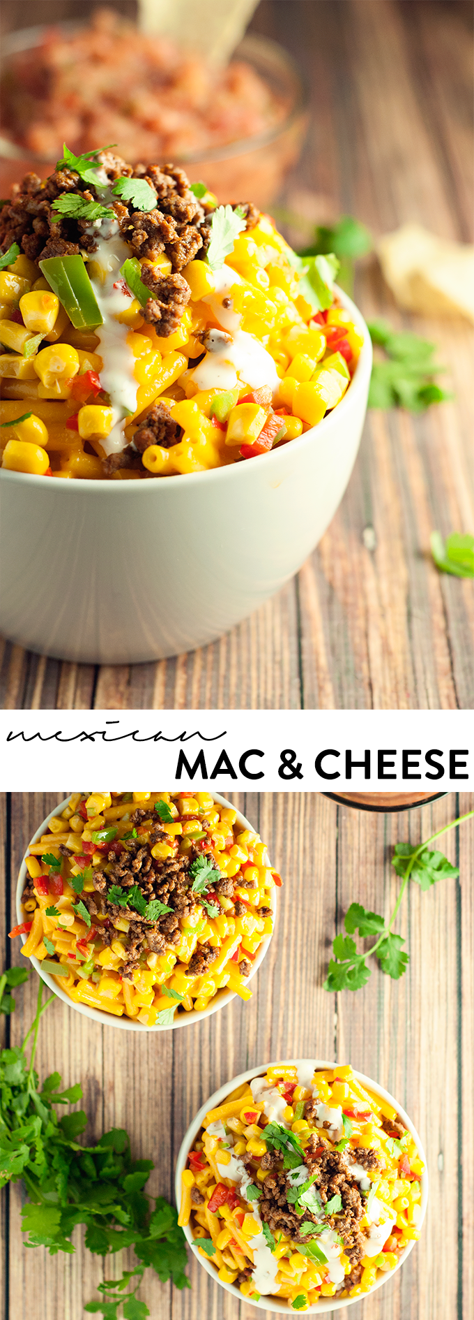 Mexican Mac & Cheese | asimplepantry.com