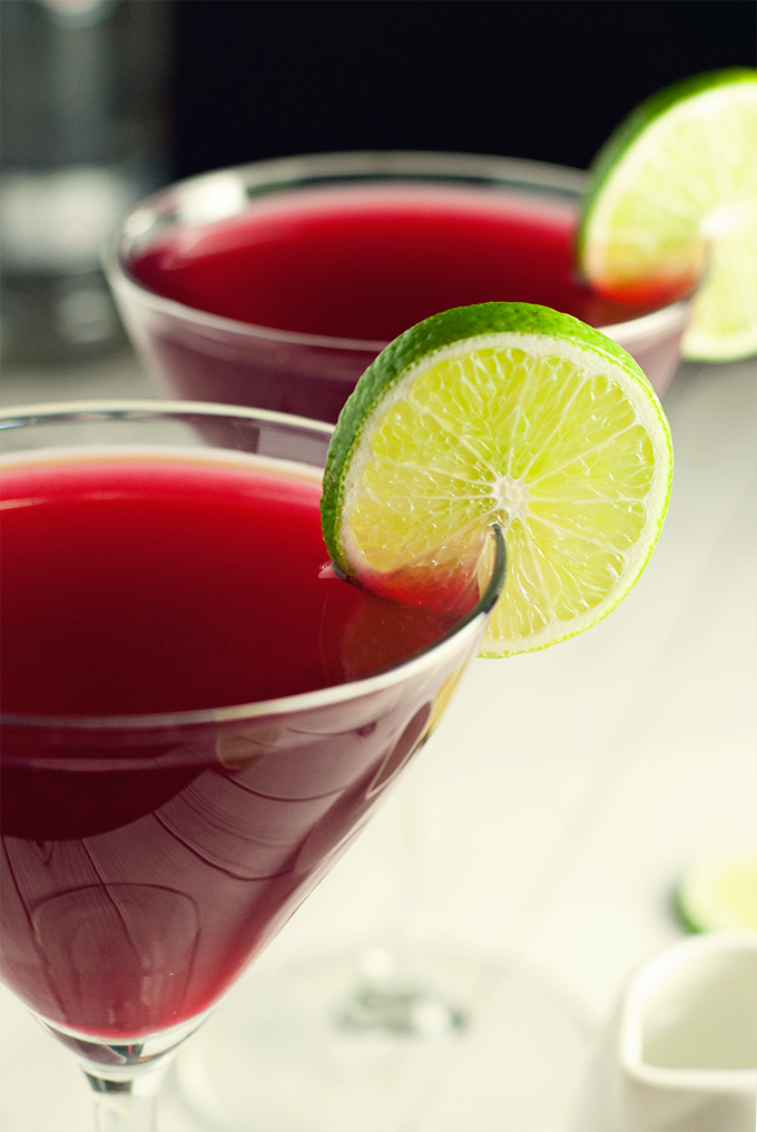 Pomegranate Cosmo Recipe — Dishmaps