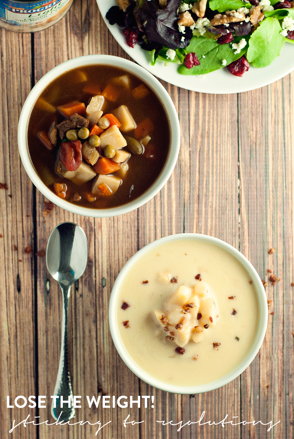 Keep those resolutions in check with delicious Progresso­™ Light soups!