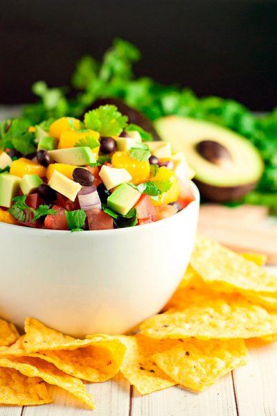Two-Minute Mango Salsa