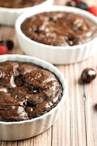 Dark Chocolate Brownie Tart