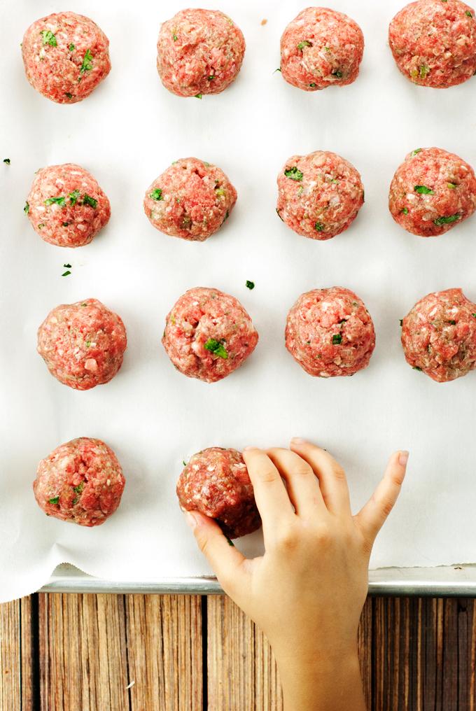 Mexican Meatballs   asimplepantry.com