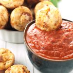 Pepperoni Pizza Bites | asimplepantry.com