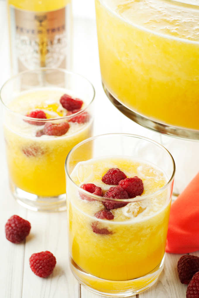 The Best Ever Mango Slush Punch | asimplepantry.com