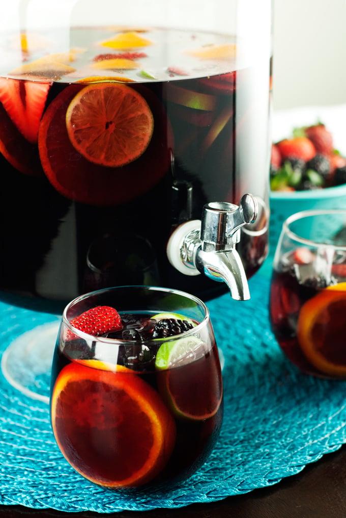 The Best Ever Red Sangria | asimplepantry.com