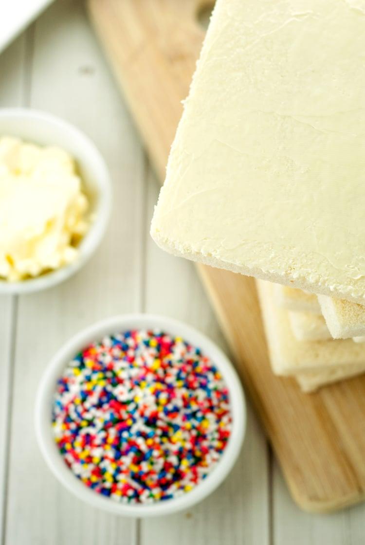 Fairy Bread | asimplepantry.com