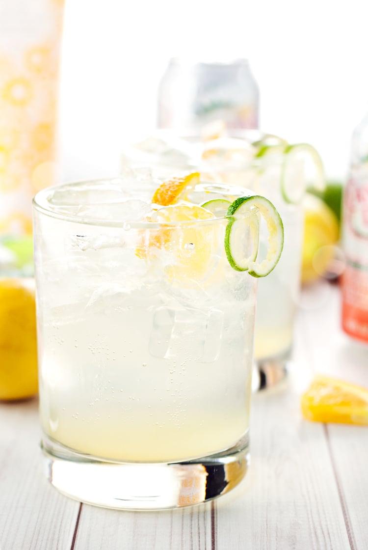 Orange Gin Buck Recipe | asimplepantry.com