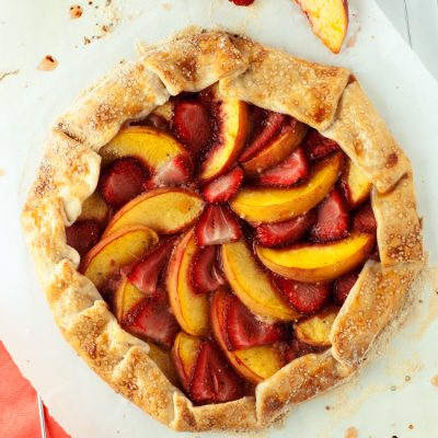 Strawberry Peach Galette