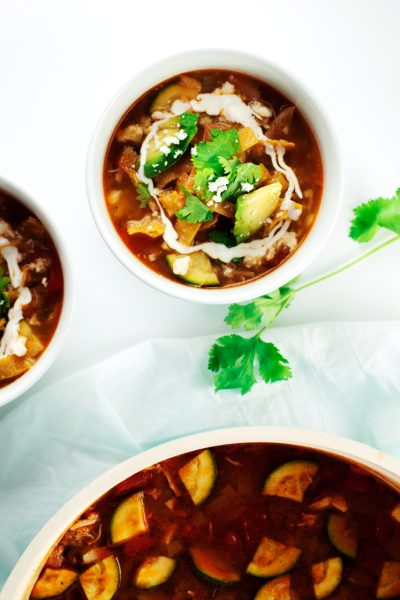 The Best Damn Chicken Tortilla Soup Recipe