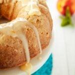 Peach Mango Bundt Cake | asimplepantry.com