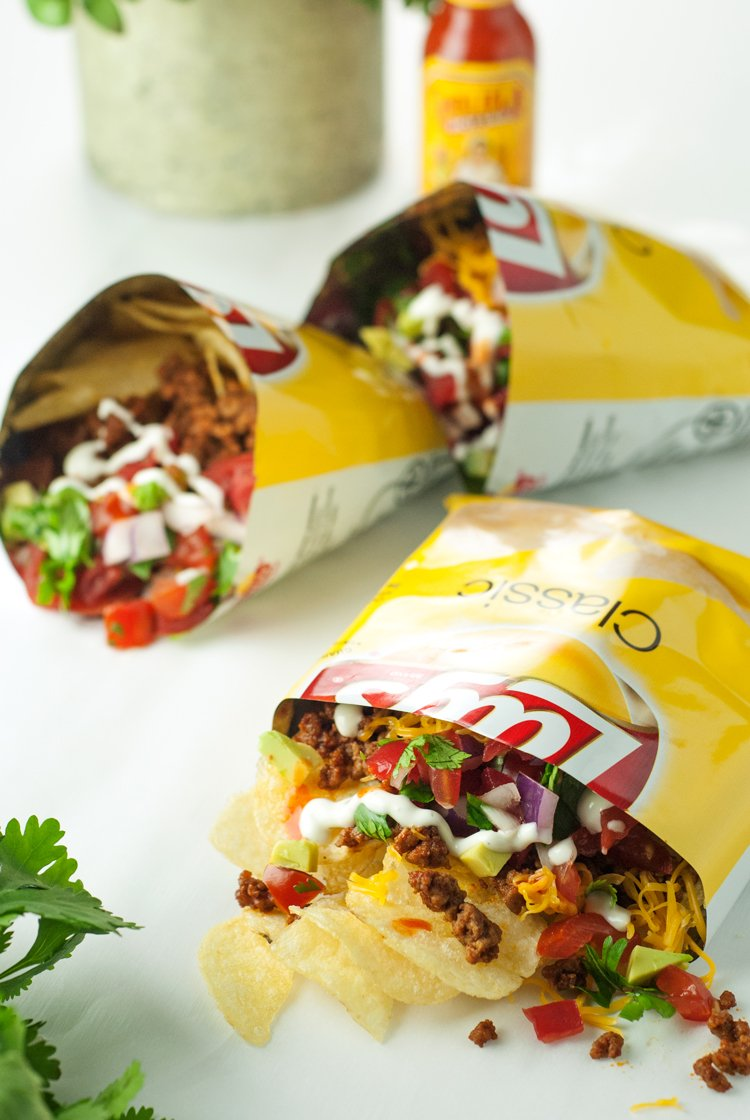 Potato Chip Taco Bags | asimplepantry.com