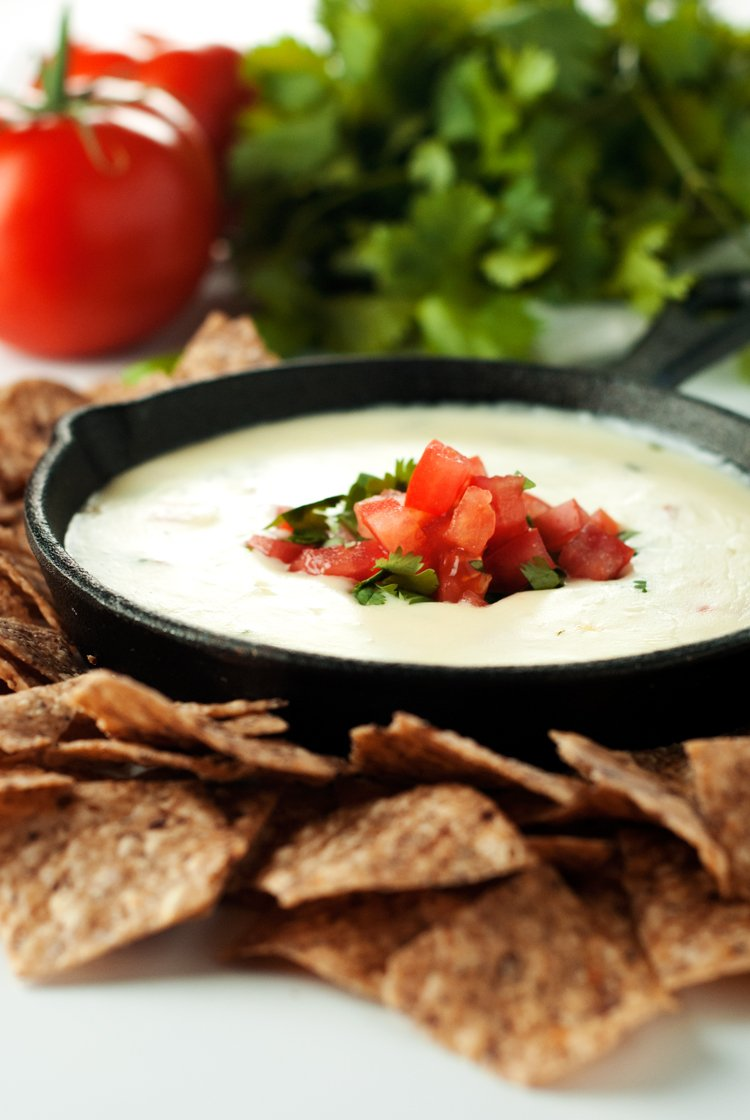 Spicy Restaurant Style Queso Blanco | asimplepantry.com