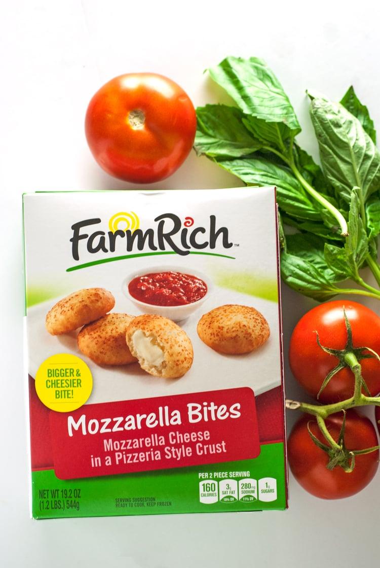 Bruschetta Mozzarella Bites   asimplepantry.com