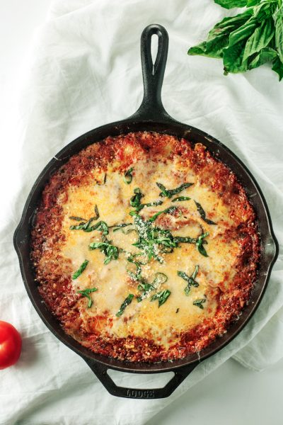The Best Damn Easy Skillet Lasagna Recipe