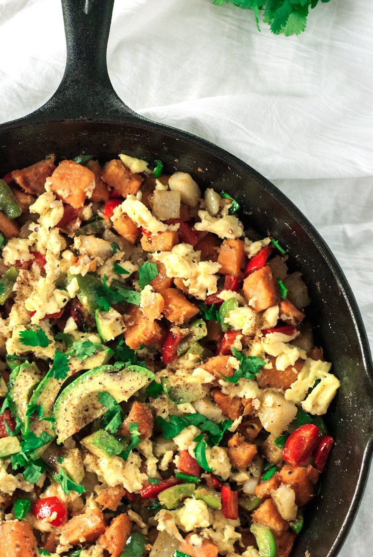 Southwestern Breakfast Hash Recipe — Dishmaps