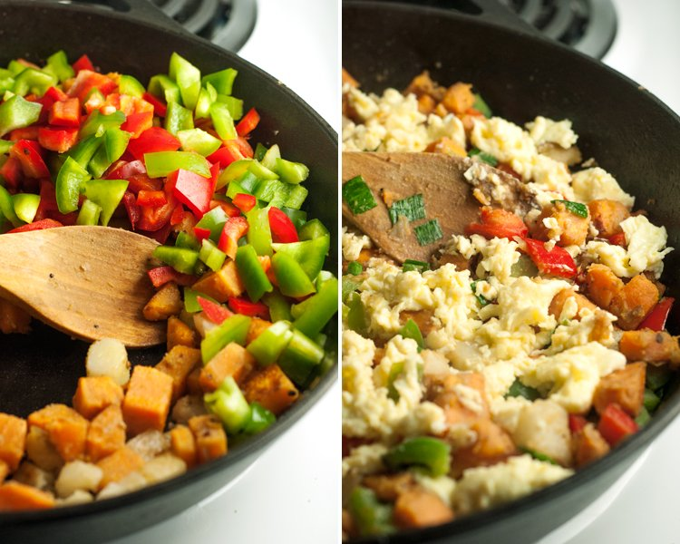 Southwestern Breakfast Hash | asimplepantry.com