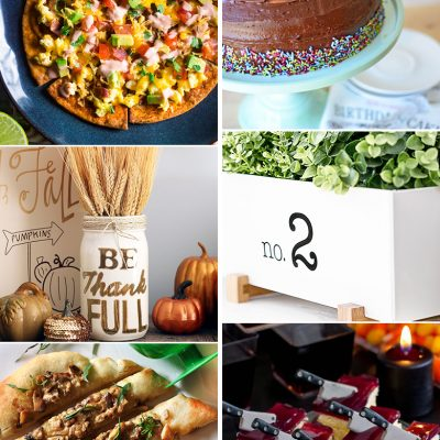 Create & Share DIY and Recipe Party {77}