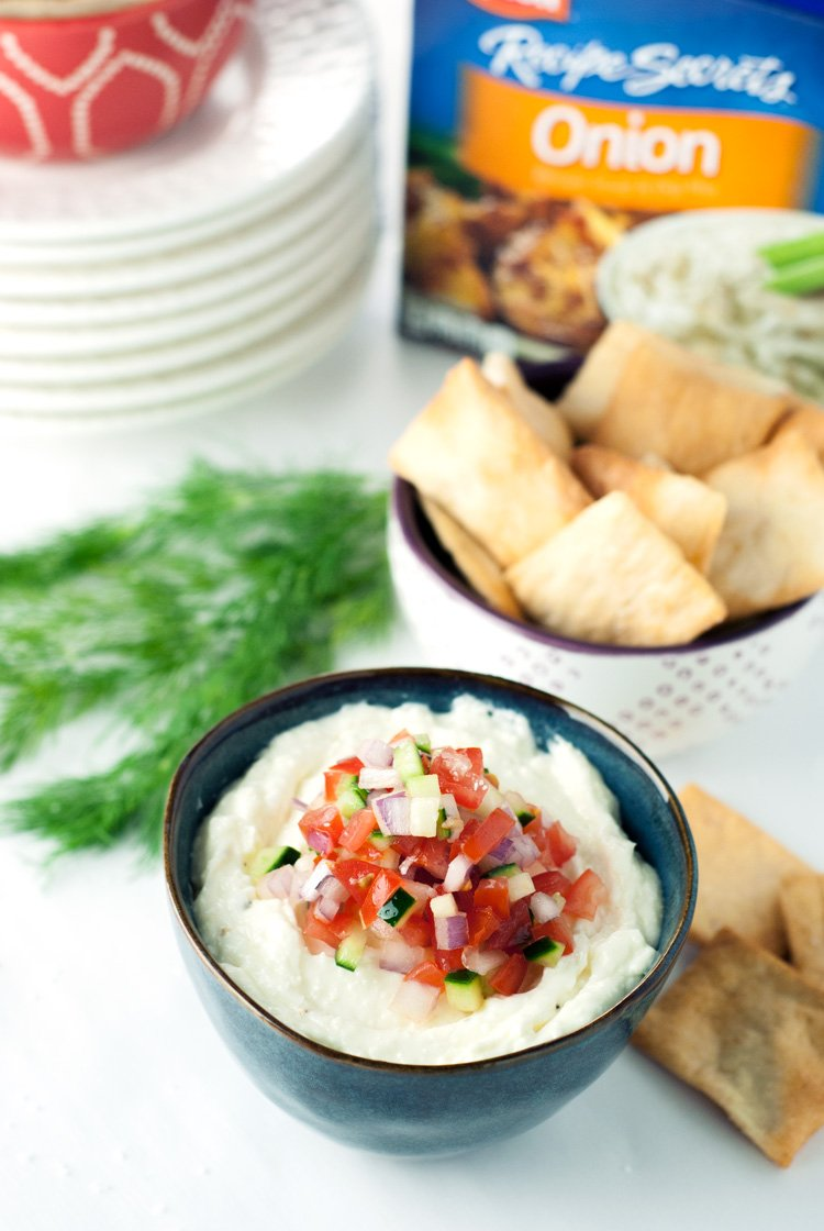 Greek Feta Dip | asimplepantry.com