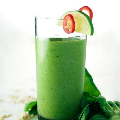 Jalapeno Mango Green Smoothie