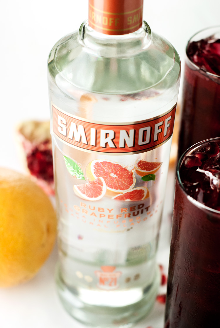 Pomegranate Grapefruit Punch | asimplepantry.com
