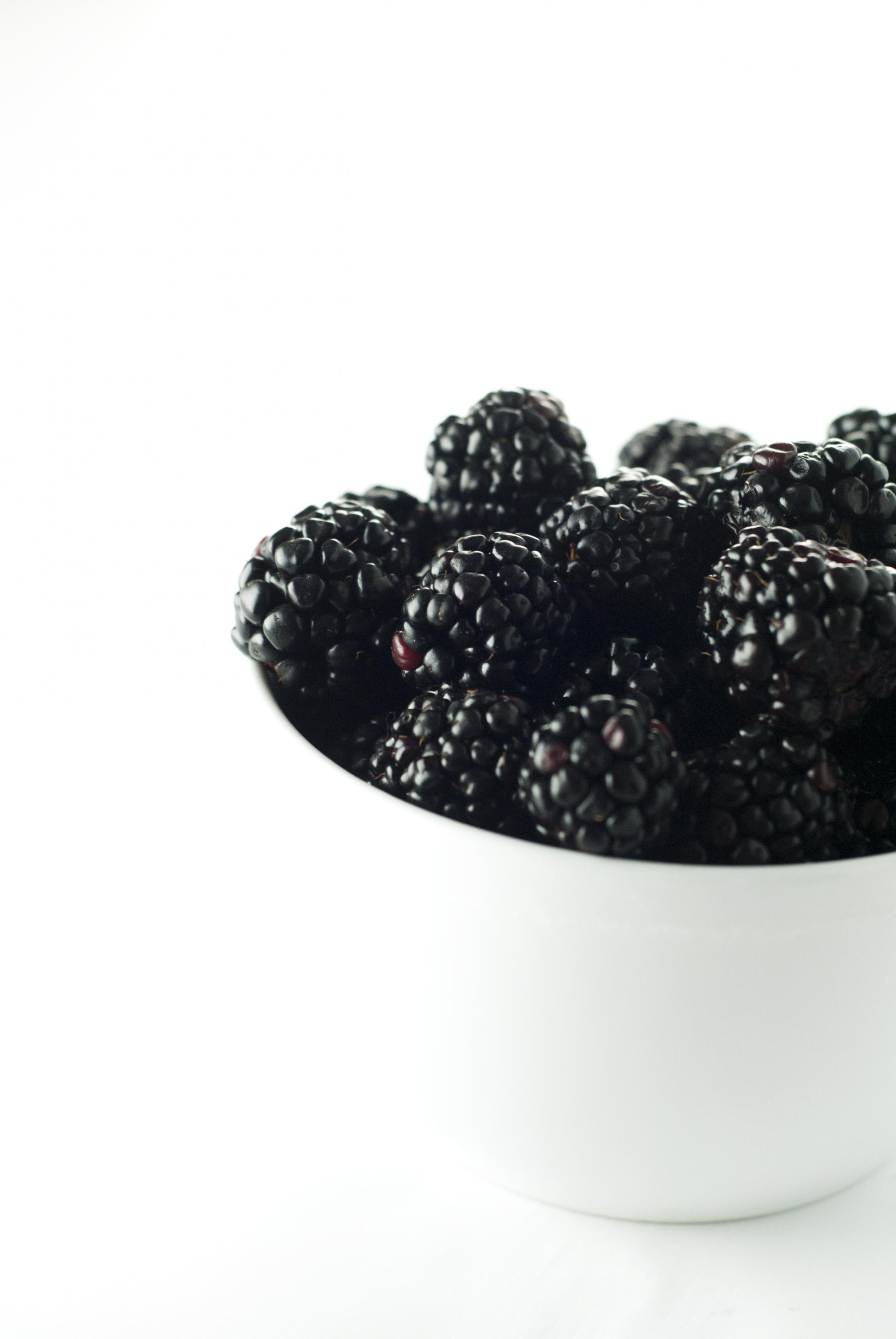 Big Bowl of Blackberries