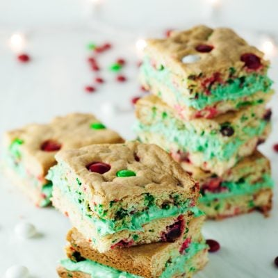 Cake Mix Cookie Bar Sandwiches