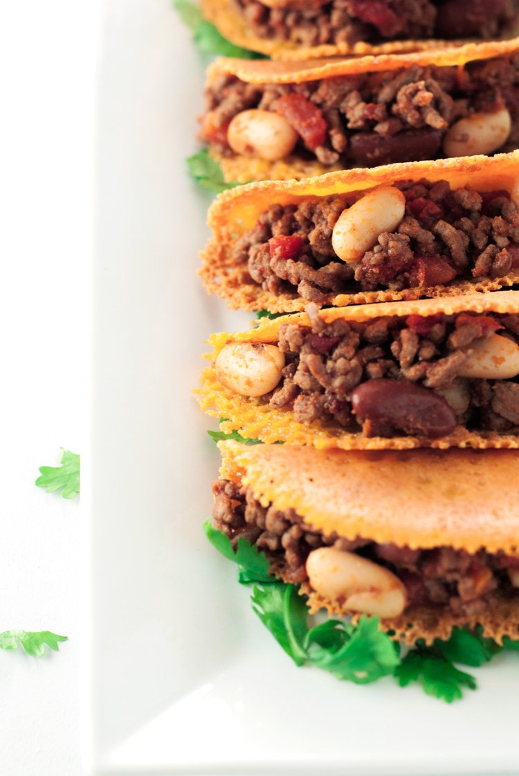 Chili Cheese Tacos |asimplepantry.com
