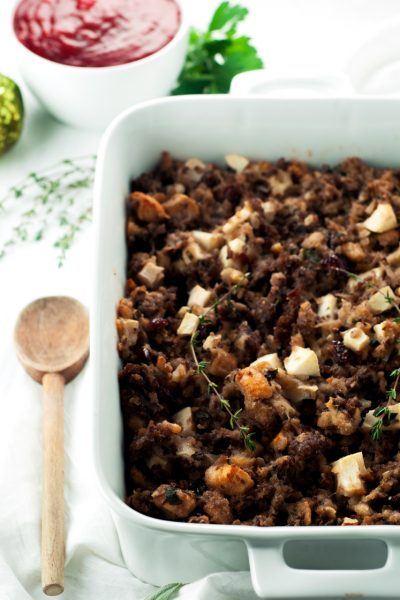 Cranberry Sausage Stuffing