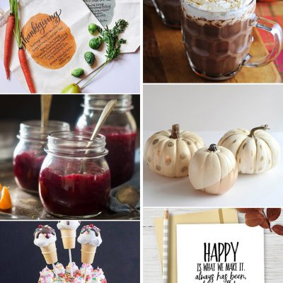Create & Share DIY and Recipe Party {79}
