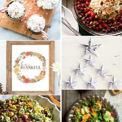 Create & Share DIY and Recipe Party {81}