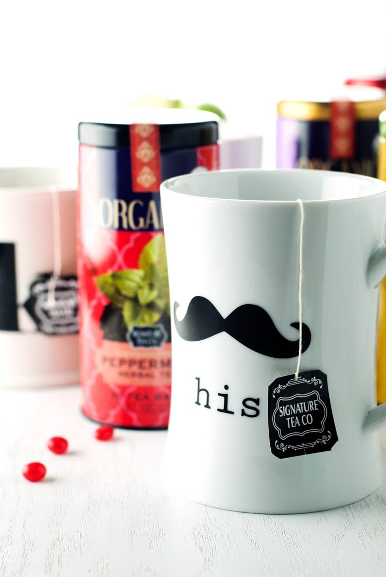 Signature Tea Co. - Holiday Acorn Box | asimplepantry.com